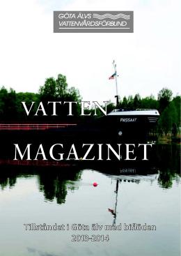 Vattenmagazinet 2013-2014 - Göta älvs vattenvårdsförbund