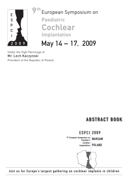 May 14 -- 17, 2009