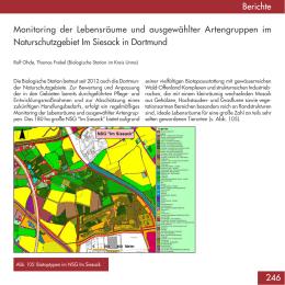 Monitoring im Naturschutzgebiet Im Siesack in Dortmund