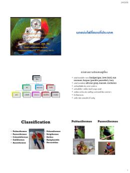 เอกสารประกอบการสอนรายวิชา 01600132 ของ อ.น.สพ.ณฐวุฒิ คณาติยา