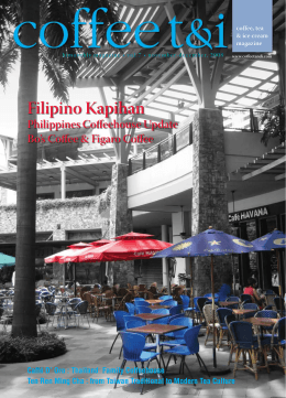 Filipino Kapihan - Coffee Tea and Ice Cream Magazine