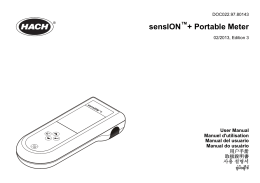sensION + Portable Meter