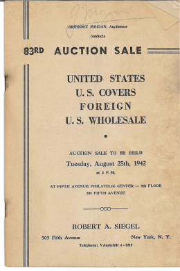 1 - Robert Siegel Auctions