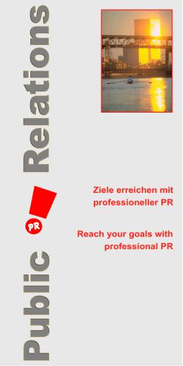 Ziele erreichen mit professioneller PR Reach your - creativ