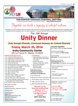 Unity Dinner - TownNews.com