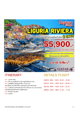 itinerary details flight