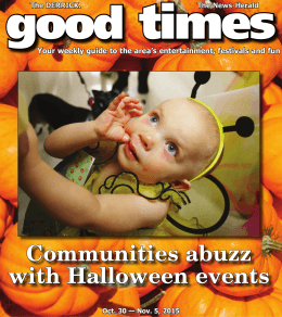 Communities฀abuzz฀ with฀Halloween฀events