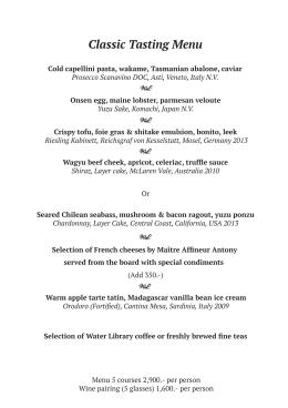 Dinner Menu WLCC classic 11-11-15