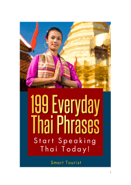 199 Everyday Thai Phrases 2014