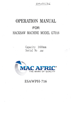 esawph-716 manual