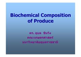 Hounsome et al., 2008 - คณะเกษตรศาสตร์ มหาวิทยาลัยอุบลราชธานี