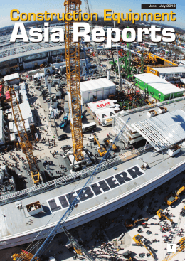 June - July 2013 - Construction Equipment Asia Reports