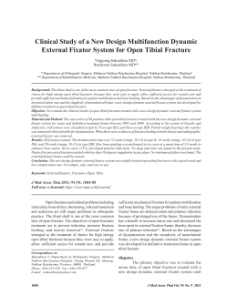Clinical Study of a New Design Multifunction Dynamic