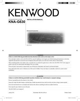 KNA-G630 - Kenwood