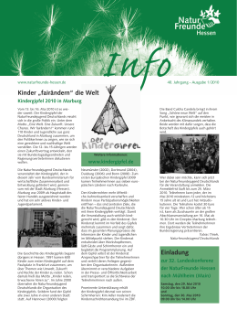 Hessen Info 2010_01 - Naturfreundejugend Hessen