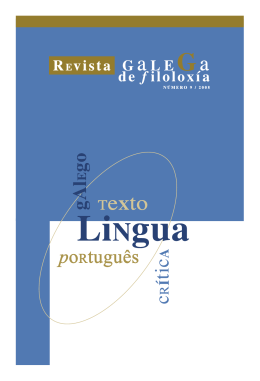 A forma verbal éste na lírica profana galego