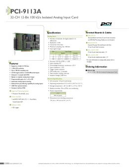 PCI-9113A - Industry.in.th
