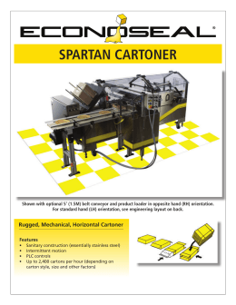 spartan cartoner - Union Standard Equipment