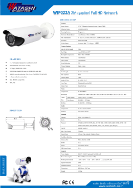 WIP022A - กล้องวงจรปิด