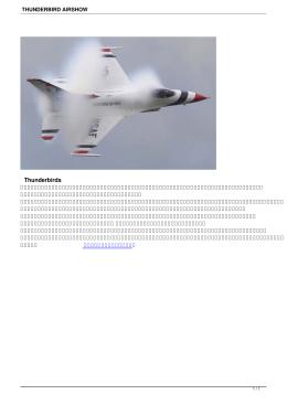 thunderbird airshow - neutron.rmutphysics