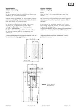 Montageanleitung AGILE50Deckenmontage