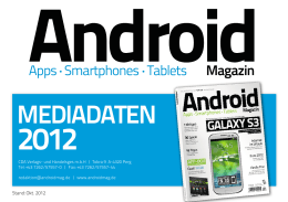 mediadaten - CDA Verlag
