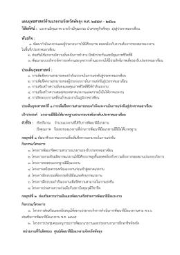 ร่าง แผนฯ ยุทธศาสตร์ด้านแรงงาน พ.ศ. 2557-2561