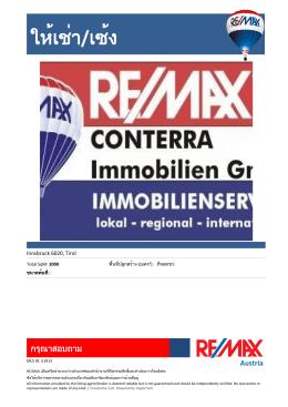 RE/MAX Austria - RE/MAX Brasil