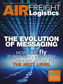 Airfreight Logistics, Issue 87, March 2012