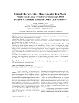 Clinical Characteristics, Management in Real World