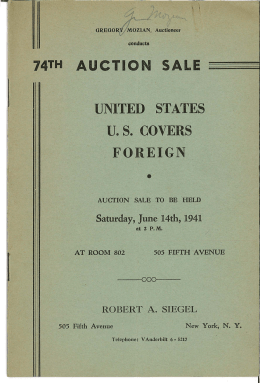 J - Robert A. Siegel Auctions