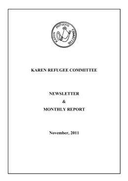 The Karen Refugee Committee, KAREN REFUGEE COMMITTEE
