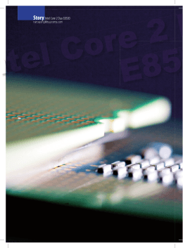 P 064-071 Story Intel Core 2 Duo E8500 157.indd