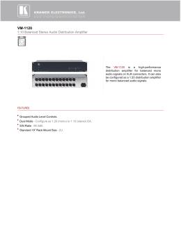 VM-1120 - Markertek