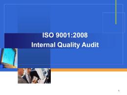 ISO 9001:2008 ทบทวนข้อกำหนด