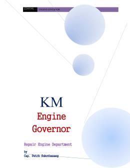 Engine Governor - กรมอู่ทหารเรือ