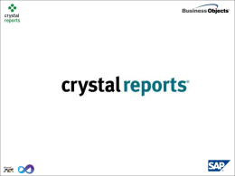 Crystal ReportNew