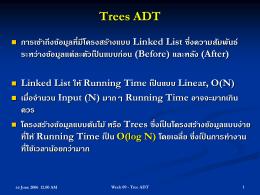 Trees ADT