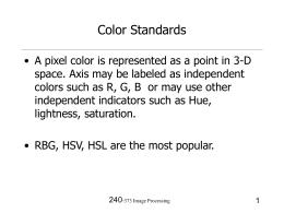colorstandard