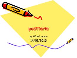 postterm