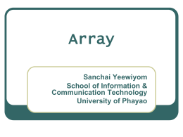 Lec.02 Array