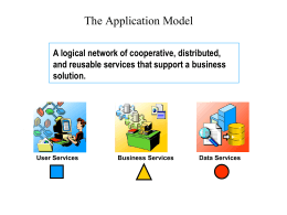 The Application Model