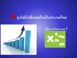 ธุรกิจค้าปลีกสมัยใหม่ในประเทศไทย