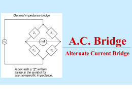 AC Bridge