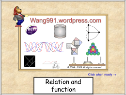 Functions 15 - WordPress.com