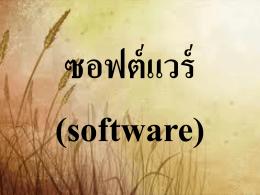 ซอฟต์แวร์จัดการฐานข้อมูล