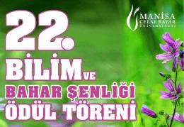PowerPoint Sunusu - Celal Bayar Üniversitesi