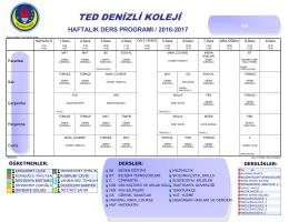 4 - TED Denizli Koleji