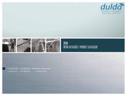 Katalog - Dulda Merdiven Sistemleri