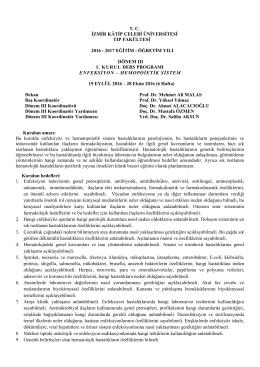 Kurul-I - İzmir Katip Çelebi Üniversitesi